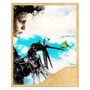 Edward Scissorhands. Размер: 40 х 50 см